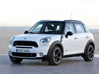 The first MINI Cooper Countryman just passed by my office window and got my.
