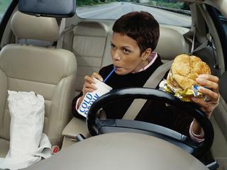 перекусить в авто