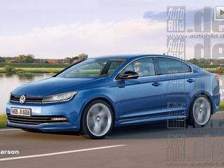 В семействе VW Golf появится четырехдверное купе