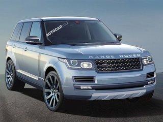 Новый Range Rover станет технологическим прорывом