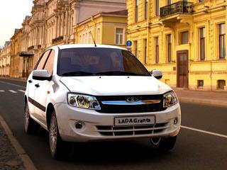 Lada Granta появилась в открытой продаже
