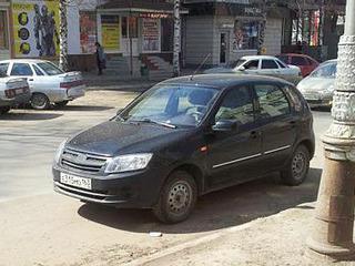В Сети появились шпионские фото хэтчбека Lada Granta