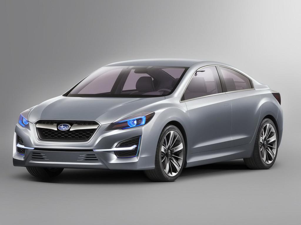 Компания Subaru показала прототип …