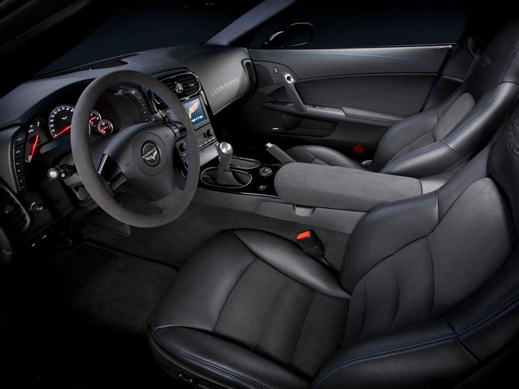 Corvette Z06 Carbon салон