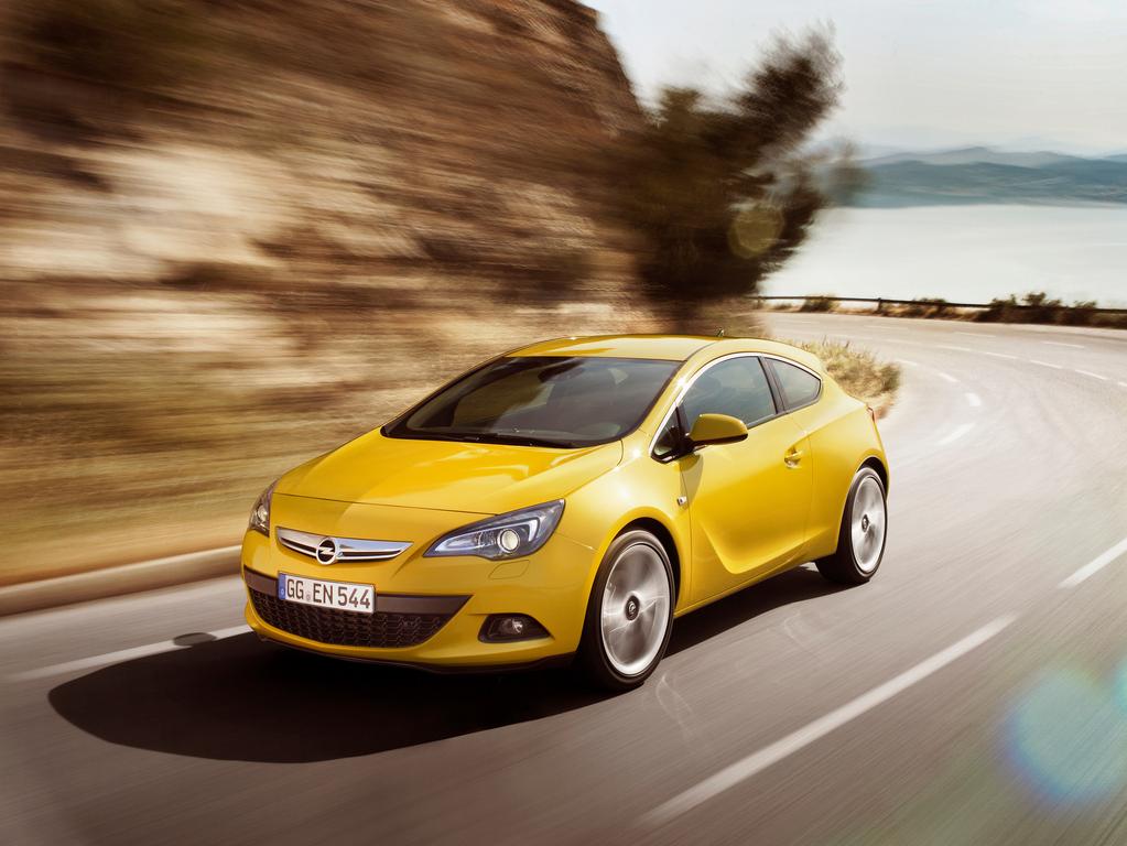 Фотографии Opel Astra GTC Фотография…