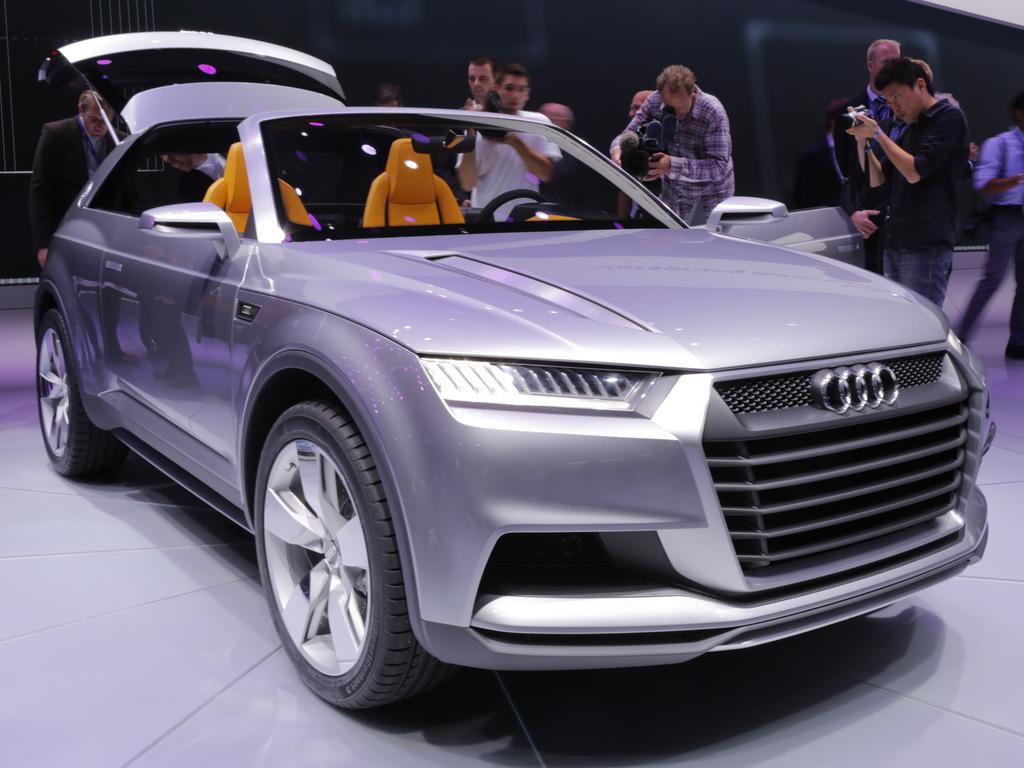 Компания Audi озвучила планы по производ…