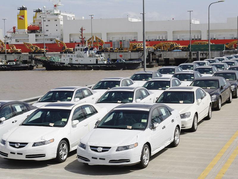 Импорт легковых автомобилей в Россию вырос на 20%