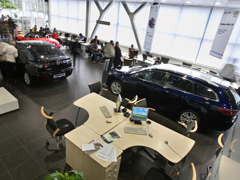 продажи автомобилей