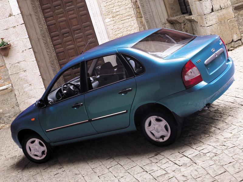 Самым популярным автомобилем в России стала Lada Kalina