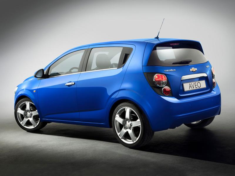 Новый хэтчбек Chevrolet Aveo обойдется в 527 000 рублей