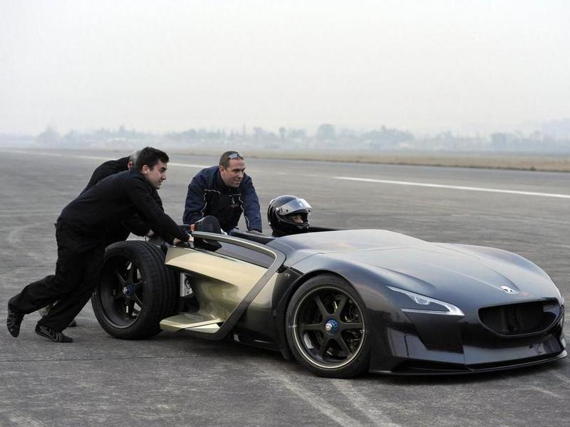 Концепт-кар Peugeot