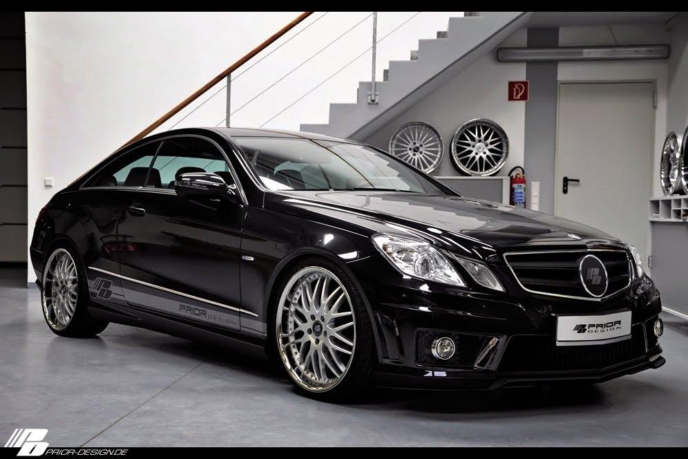 купе Mercedes E-класса
