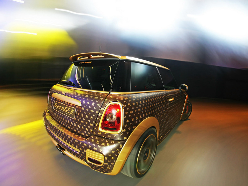 Mini Cooper JCW Cover EFX Luis Vuitton
