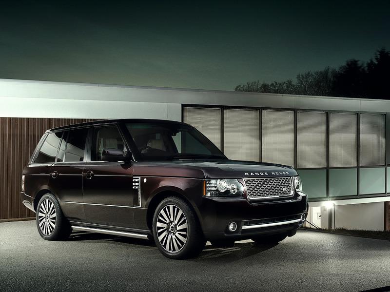 Новый Range Rover станет еще более люксовым