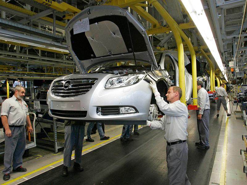 General Motors может перенести производство из Германии в Россию