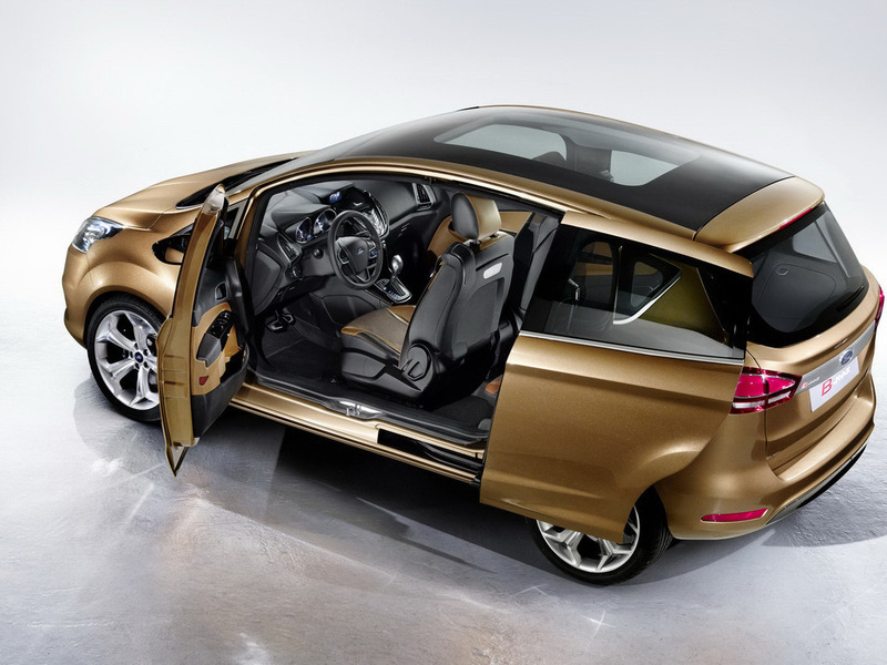 Ford B-MAX concept Женева 2011