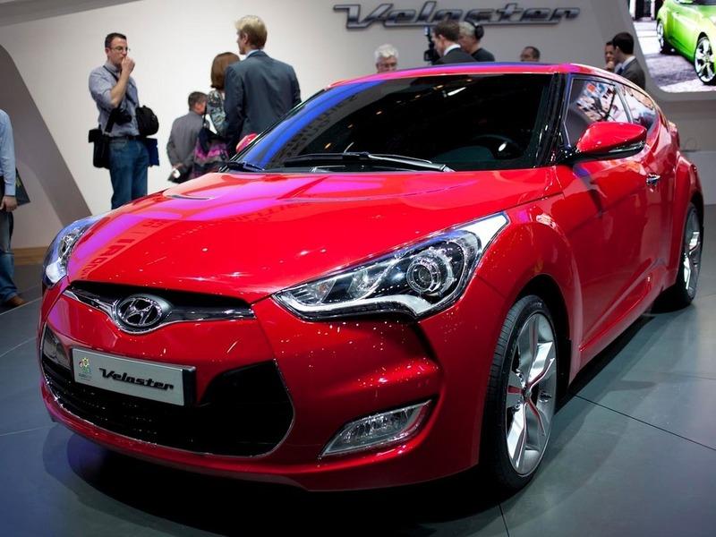 Hyundai Veloster приедет в Россию в начале 2012 года
