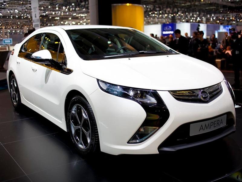 Европейским автомобилем года стал Opel Ampera