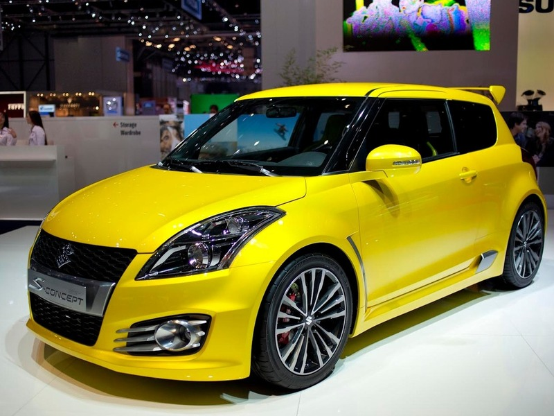 Suzuki Swift S-concept Женева 2011