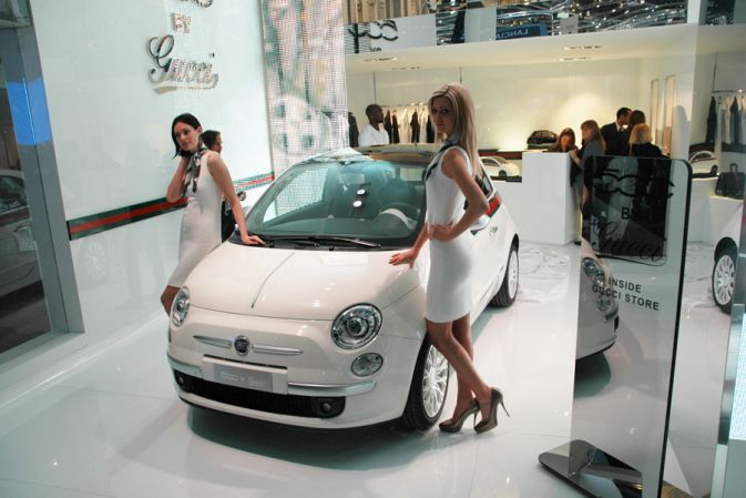 Fiat 500 by Gucci Женева 2011