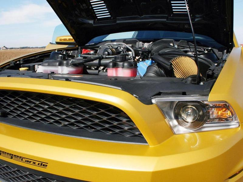 Ford Mustang Shelby GT640 Golden Snake by Geiger Cars