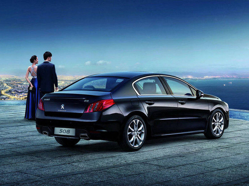 Peugeot 508 special for China
