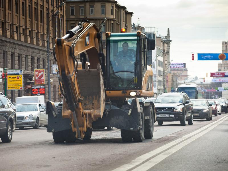 В России могут  ввести штрафы для водителей тихоходных машин