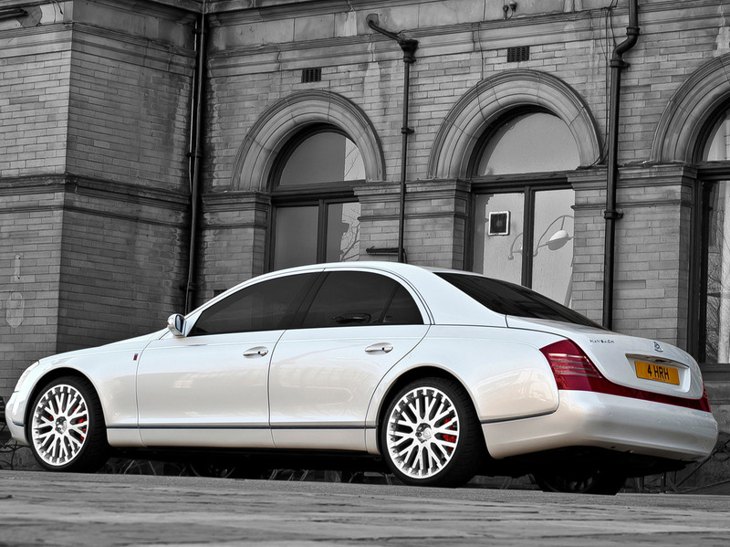 Project Kahn Wedding Commemorative Maybach 57