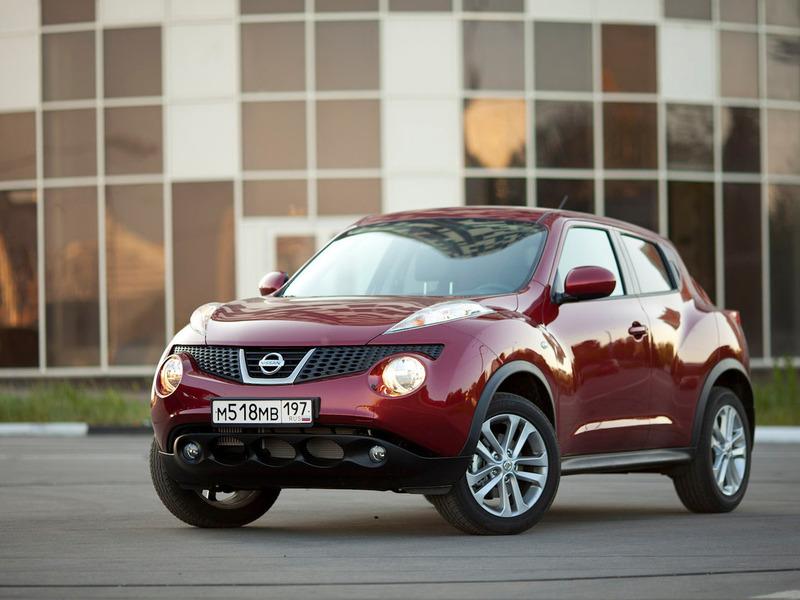 Nissan Juke стал лидером продаж марки в России