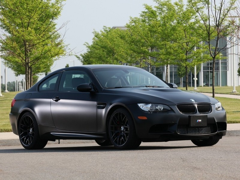 BMW Frozen Black M3 Coupe 2011