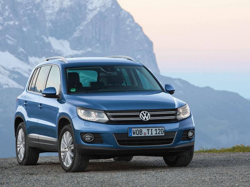 Новый Volkswagen Tiguan получит семиместный и спортивный варианты
