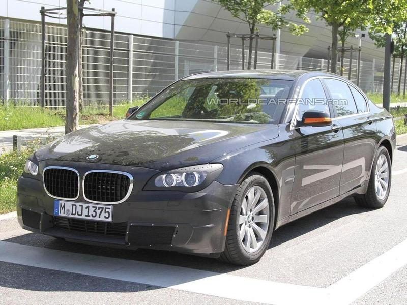 2012 BMW 7 Series spy