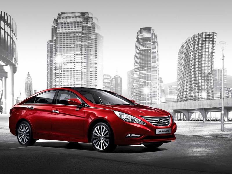 Hyundai Sonata обновится в 2014 году
