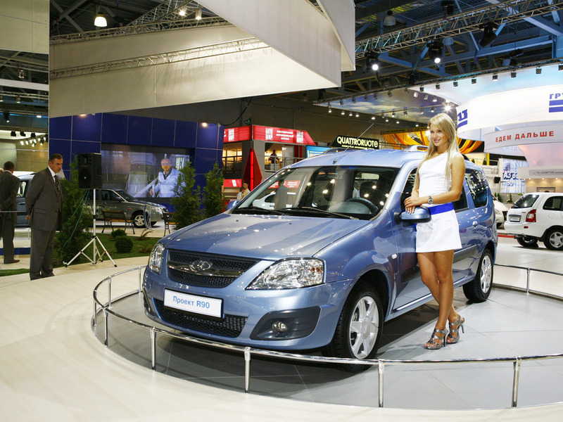 Производство нового Lada Largus запустит Владимир Путин