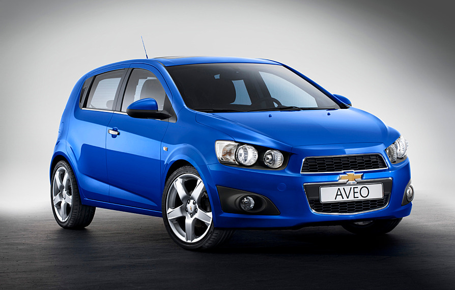 Chevrolet Aveo New хэтчбек