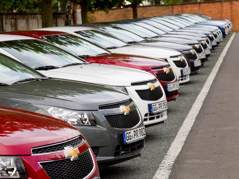 35% подержанных машин продается в Москве и Питере