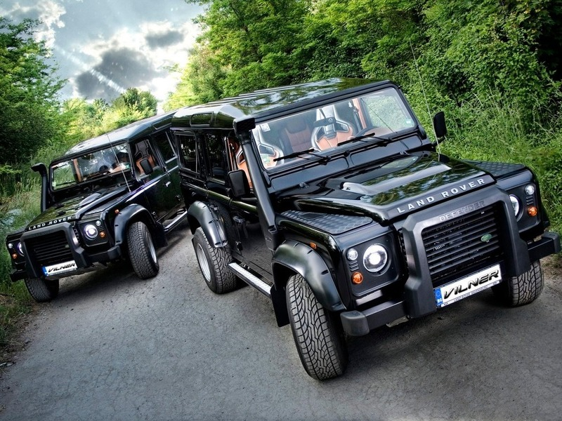 Land Rover Defender by Vilner