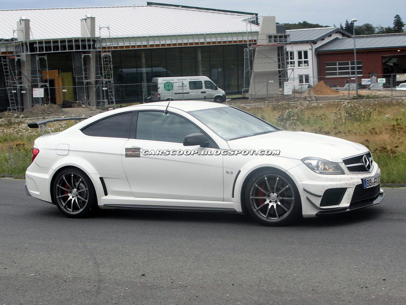 Mercedes-Benz C63 AMG Black Series Aerodynamics