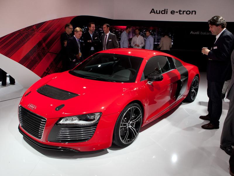 Audi разрабатывает искусственный звук мотора для электрического R8