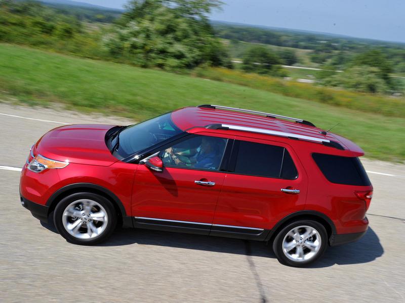 Внедорожник Ford Explorer начнут собирать в России осенью