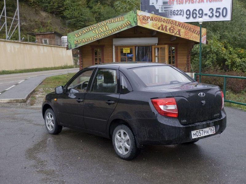 Lada Granta отправилась на экспорт