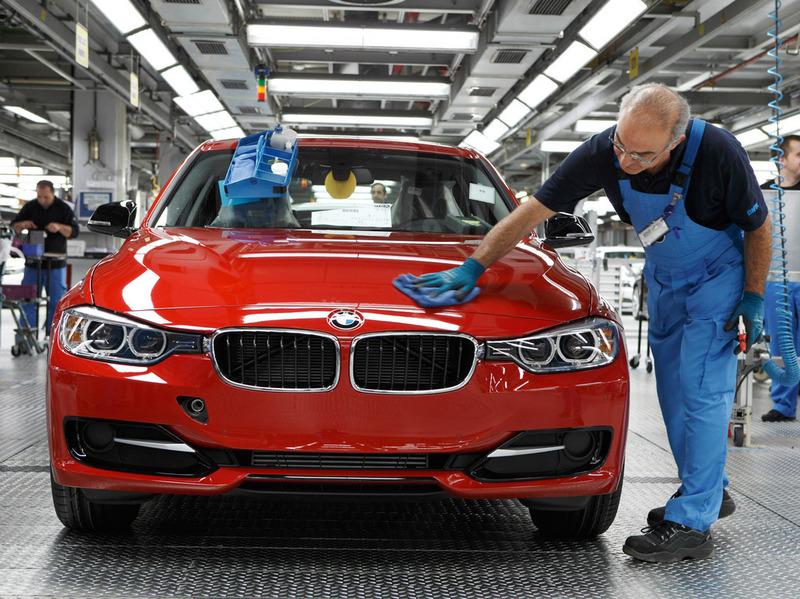 BMW обсудил с Путиным возможность строительства завода в России