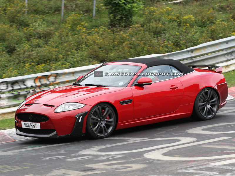 Jaguar XKR-S Convertible spy