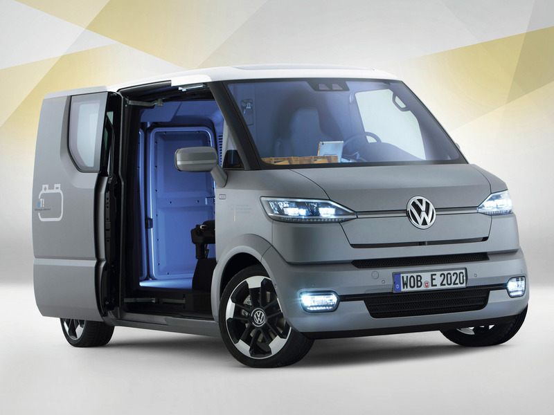Volkswagen research vehicle eT!