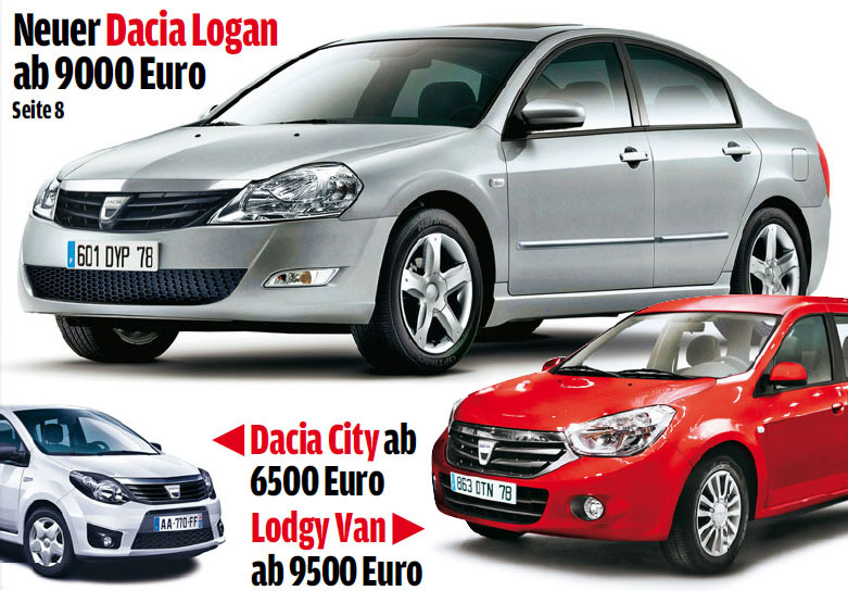 Сборка нового Renault Logan в России начнется в следующем году