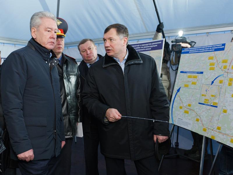 Реконструкцию Варшавки ускорят по требованию мэра Москвы