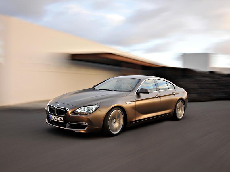Названы цены на новую BMW 6 Series Gran Coupe