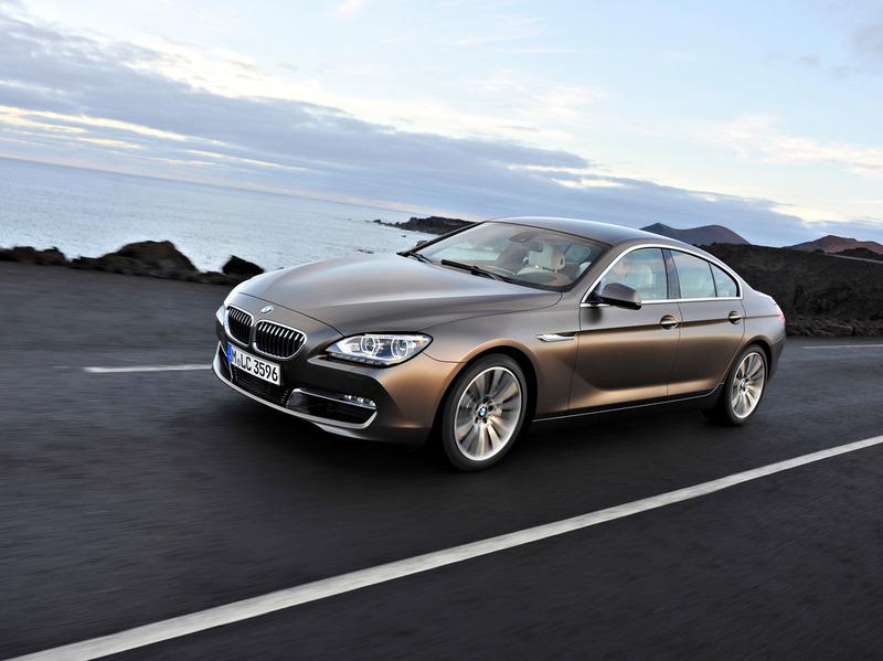 BMW 6 Series Gran Coupe появится в России в конце июня