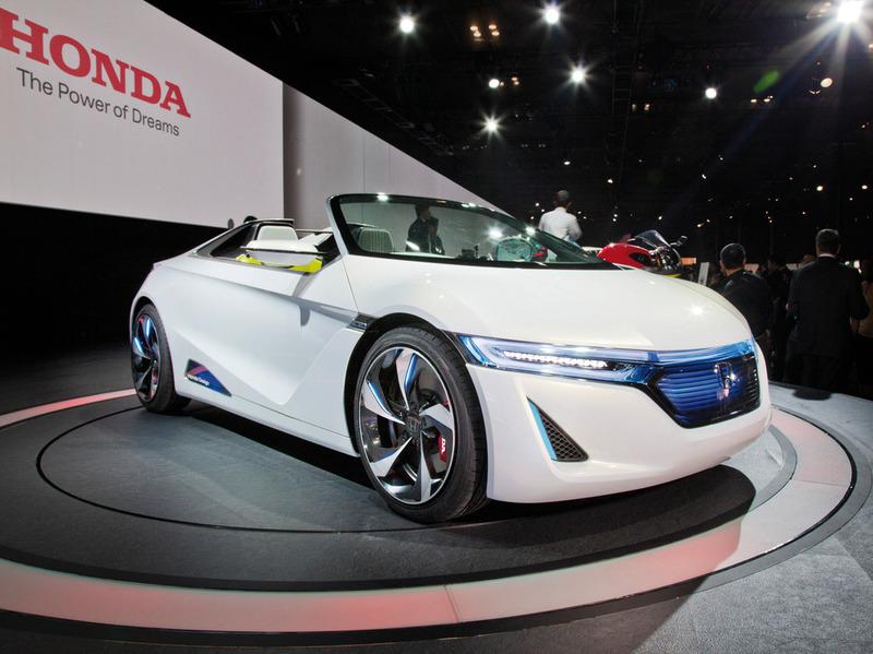 Honda NSX получит 400 гибридных сил
