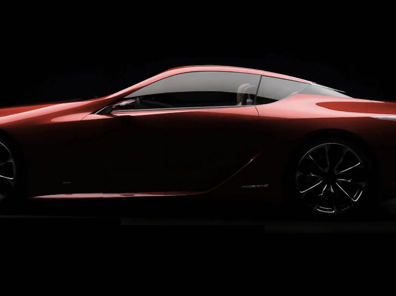 Lexus LF-LC Sports Coupe